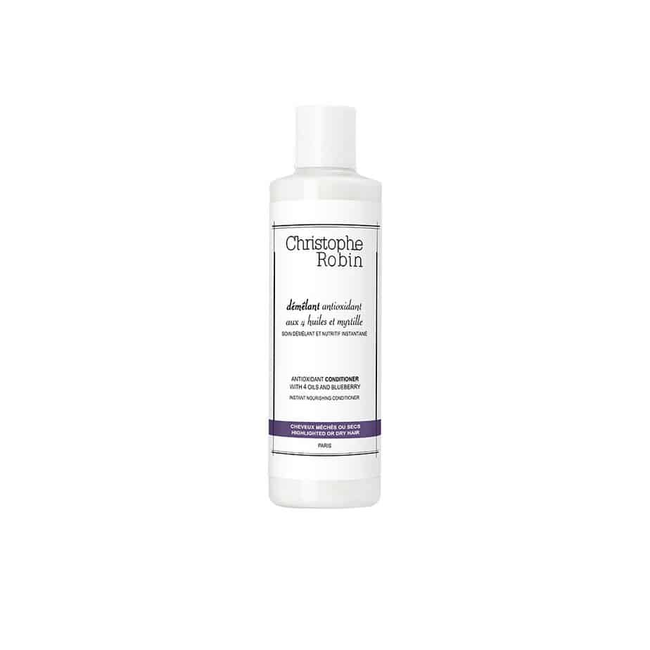 Acondicionador cabello teñido Christophe Robin Antioxidant Conditioner with 4 Oils and Blueberry