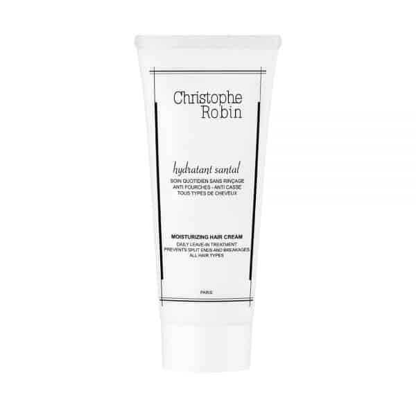 Moisturizing hair cream Christophe robin cabello deshidratado