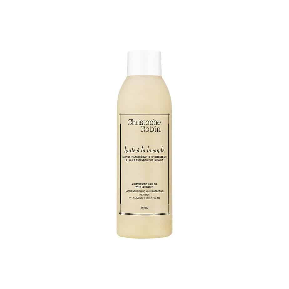 Champú cabello teñido Christophe Robin Moisturizing Hair Oil with Lavender