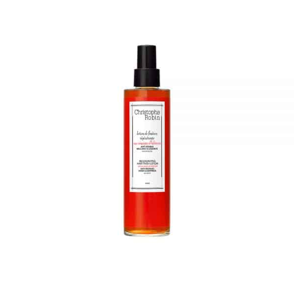 Regenerating finishing lotion with hibiscus vinegar Christophe robin cabello deshidratado