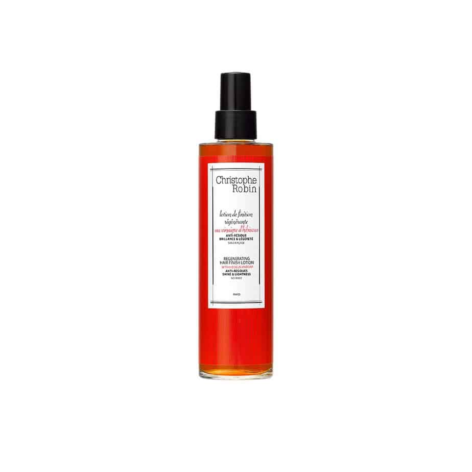 Loción de acabado cabello deshidratado Christophe Robin Regenerating Finishing Lotion with Hibiscus Vinegar