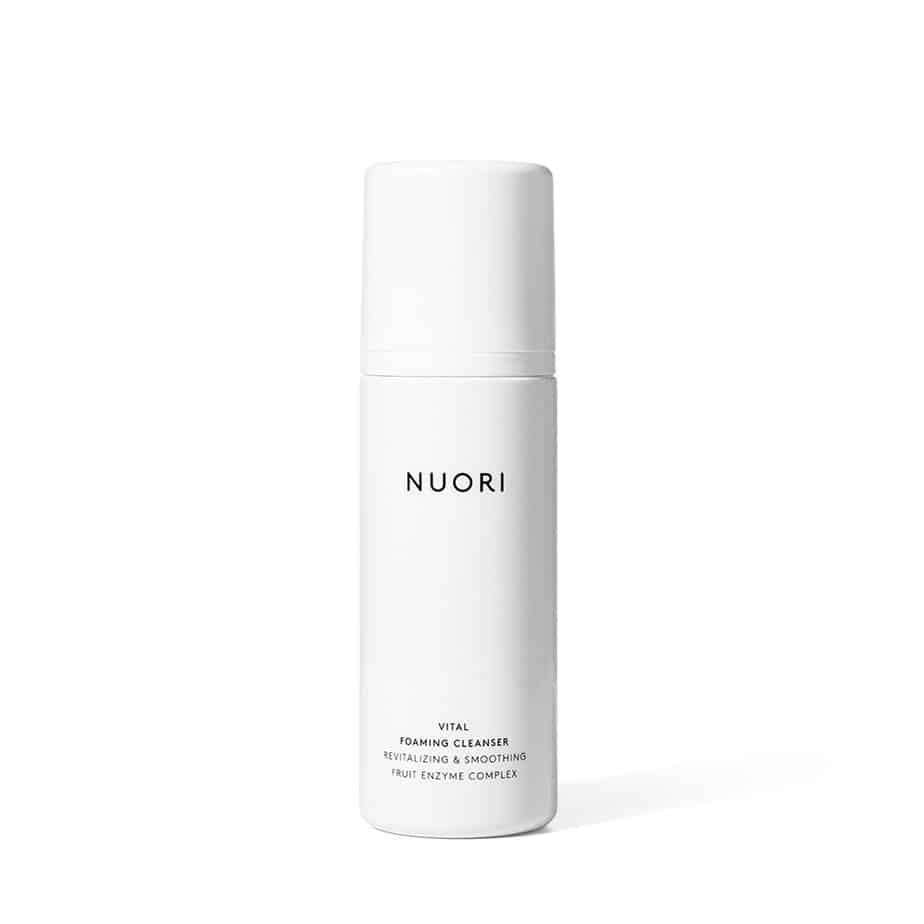 Limpiadora rostro piel sensible Nuori Vital Foaming Cleanser