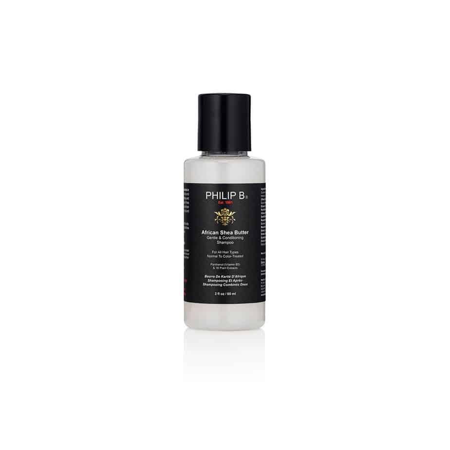 Champú suave con acondicionador Philip B African Shea Butter Gentle & Conditioning Shampoo 60ml