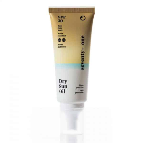 Dry-sun-oil-Spf30-Seventyone-percent-Piel-sensible-cuerpo